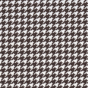 Fabric Finders 15 Yd Bolt 9.34 A Yd 753 100% Pima Cotton Fabric 60 inch Brown Houndstooth Twill