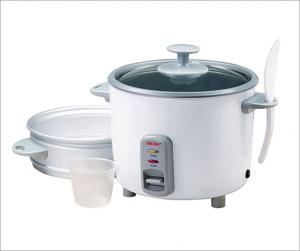 Aroma ARC-727-1NG 7 Cup Pot Style Rice Cooker, Jambalayas, Soups, Stews, Vegetable & Meat Steamer, Non Stick, Warm Mode, Glass Lid, Paddle, Cup, Tray