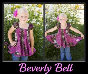 Izzy & Ivy Designs II-138 Beverly Belle Dress Sewing Pattern Size 1-14