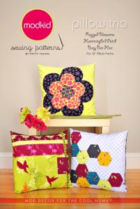 modkid MOD13 Pillow Trio Pattern