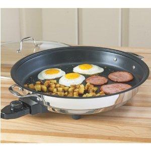 """Cucina Pro 1653 Classic Electric Skillet-12"""" (Non-Stick interior)"""