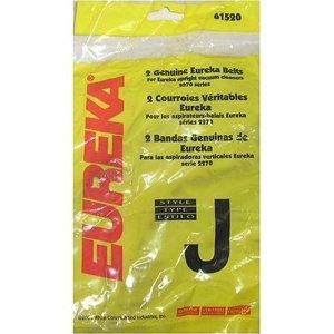 Eureka 61520B-12 Style J Vacuum Cleaner Replacement Belts, Used on 2270 Series Uprights