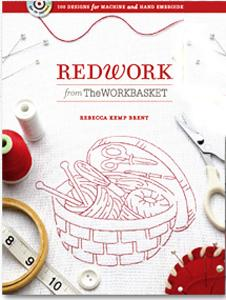 Redwork from the WorkBasket 128 Page Embroidery Book, 100 Designs