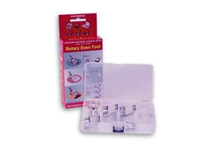 Janome, Rotary, Even Feed Foot,  # 3237777, Blind Hemming, Bias Tape, Application, and 3, Rolled Hem, Edge Width, Attachments