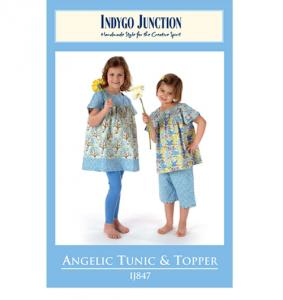 Indygo Junction IJ847 Angelic Tunic & Topper Pattern