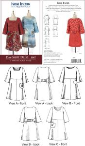 Indygo Junction IJ807 Day-Shift Dress Pattern