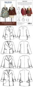 Indygo Junction IJ839  Inside Out Jacket Pattern