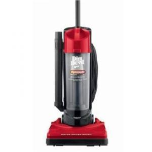 Dirt Devil M084650RED Dynamite with On-Board tools, 10 amp, Bagless, Red