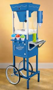 "Nostalgia Electrics SCC-200 Vintage Collection 54"" Old Fashioned Snow Cone Cart"