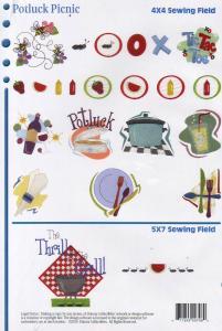Dakota Collectibles F70398 Potluck Picnics Multi-Formatted CD