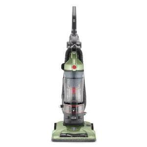 "Hoover, UH70120, WindTunnel, T-Series, Bagless, Lightweight, Upright, HEPA, Vacuum Cleaner 13.5""W , 27' Retract Cord, Wash Filter, Powered Hand Brush, 3 Tools"