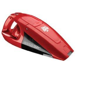 Dirt Devil BD10125 Gator Bagless Hand Held Vacuum - 15.6v, Energy Star, Red, Dirt Cup, Cordless