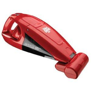 Dirt Devil BD10175 Gator Bagless Hand Held Vacuum, 18 V, Energy Star, Brushroll, Red, Cordless