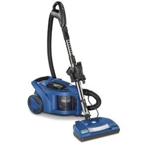 Dirt Devil M082750 Vision Bagless Canister Vacuum - 12A, Power Nozzle, Blue, HEPA, 18' cord