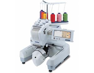 Brother PR600 6Needle 8x12 Embroidery Machine PR-600, 4Hoops, USB Port, 11Freebies $1580 Values! Roller Stand, 6Threads, Stabilizer Pk DVD, 4Downloads