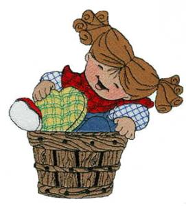 Sew Many Designs Basket Of Love Complete Collection Applique Collection Multi-Formatted CD
