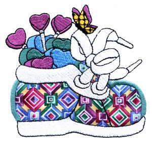 Sew Many Designs Candy Sneakers Complete Collection Applique Collection Multi-Formatted CD