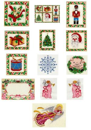 Sudberry House D3200 Christmas Collection II Digitized Machine Cross Stitch Designs CD