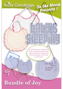 Anita Goodesign 28AGPJ Bundle of Joy In the Hoop Collection Embroidery Design Collection on CD