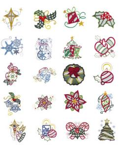 Dakota Collectibles 970416 Christmas Cutwork Multi-Formatted CD