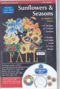 Sudberry House D8900 Sunflowers & Seasons  Multi-Formatted CD