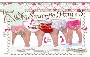 Little London Smartie Pants 3 Diaper Cover, 0-12 mo, 12-24mo