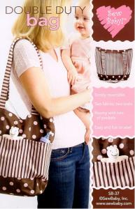 Sew Baby SB-37 Double Duty Bag Pattern Reversible