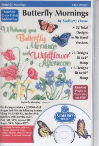 Sudberry House D9500 Butterfly Mornings Multi-Formatted CD