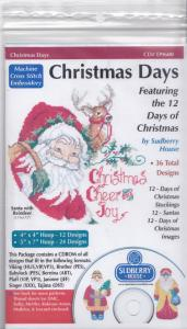Sudberry House D9600 Christmas Days Multi-Formatted CD