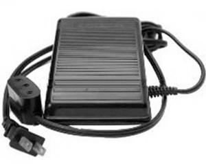 Singer 988274-102, PFW-196131, EZ123 Featherweight 221 Foot Control Pedal with #781 Lead Cords and Plug Ins Complete