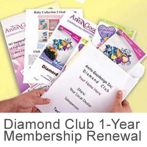 Anita Goodesigns 1Yr Diamond Club Renewal Membership