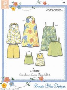 Bonnie Blue BBDP135 Aimee Pattern size 3-10 years