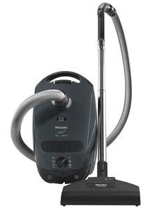 Miele Classic C1 Capri Lightweight Canister Vacuum Cleaner, Variable Suction, STB 205-3 Turbo Brush, SBB Parquet-3, standard floor tool, Cord Rewind, 7 Year Vortex Motor, 5Yr Ext Warranty
