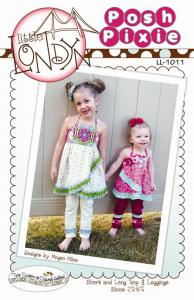 Little London LL1012 Posh Pixie, Size 2T - 5T