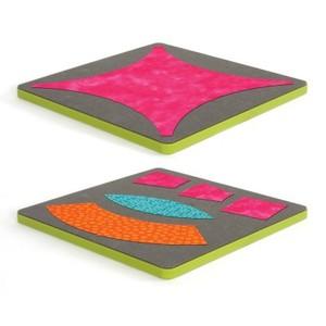 DRESDEN   -Go! Fabric Die, AccuQuilt Go! 55078 Double Wedding Ring Fabric Cutting Cutter 2 Die Set
