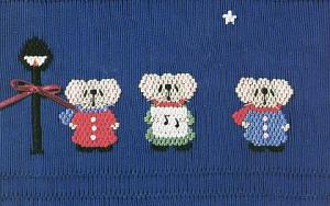 Little Memories Wee Carolers LM43 Smocking Plate
