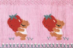 Little Memories Strawberries LM34 Smocking Plate