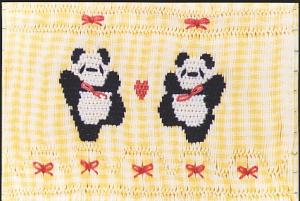 Little Memories Pandamonium LM01 Smocking Plate