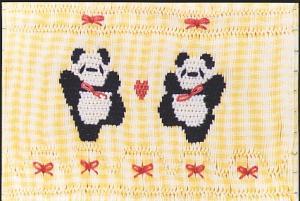 Little Memories Pandamonium LM01 Smocking Plate