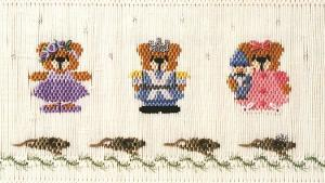 Little Memories Nearly the Nutcracker LM153 Smocking Plate