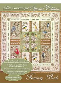 Anita, Goodesign, 03AGSE, Fantasy, Bird, Multi, format, Embroidery, Design, Pack, CD