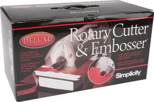 Simplicity 881711 Deluxe Rotary Cutter, Strip Cutting, Embossing Machine NLA No Longer Available, Limited Accessories