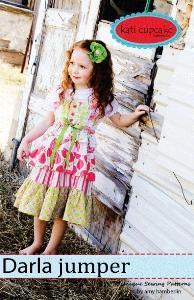Kati Cupcake Darla Jumper Pattern 12 months - 10 years