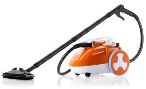 Reliable, Enviromate, GO E20, Multi Purpose, 245º F, Steam Cleaner, 10Min Heatup, 1700W, 320º F 18/10 Boiler, 5 Bar, 72 PSI, 16' foot Cord, 9.6' foot Hose, 14 Tools, 13 Lbs