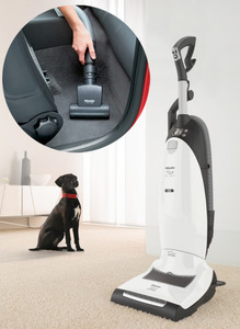 Miele, Dynamic, U1, Cat, Dog, Bagged, Upright, Vacuum, Cleaner, AAC-30, Charcoal, Pet, Odor, Filter, Variable, Suction, Dial, Mini, Turbo, Brush, STB, 101, LED, Headlight, new, low, price
