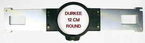 """Durkee, Embroidery, 12cm, 4.5"""", 4, 3/8"""", Diameter, Round, Frame, Hoop, PR650, PR1000, Baby, Lock, EMP6, BMP8, BMP9, ENT10, Machine"""