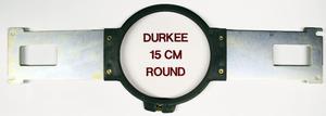 """Durkee PR15RD 5.5"""" Round Hoop, Brackets, Brother PR600 PR1000 PR1050 Babylock"""