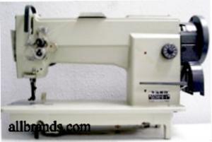 "Yamata GC 0628 Walking Foot Needle Feed Leather Stitching Sewing Machine, M Bobbins, 9/16"" Lift, 4SPI, AutoOil, DC Servo Motor Power Stand, 100N*"