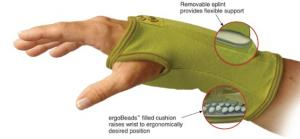 Creative Comfort CC82302 Ergonomic Crafters Comfort Glove MEDIUM, for Home or Commercial Sewing