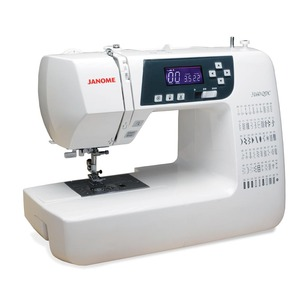Janome 3160QDC Memory Thread Cut & N, 60 Stitch Quilters Decor Full Size Computer Sewing Machine LCD, Start Stop, 6x1-Step Buttonholes, Threader 12Lbs